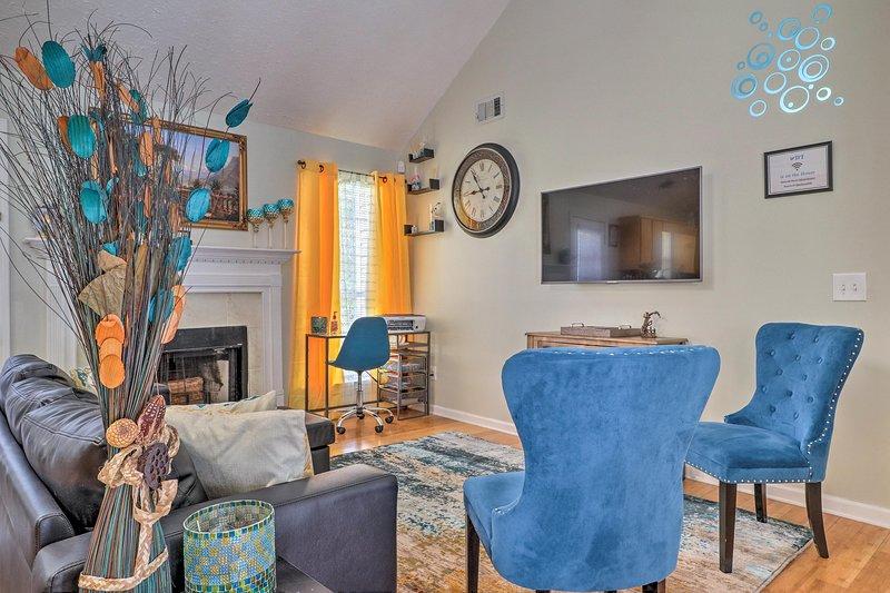 Tasteful decor makes you feel at home in 'Paradise of Atlanta.'
