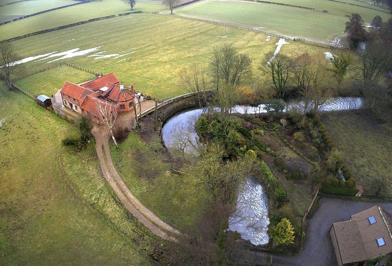Riverside Farm Cottage, casa vacanza a Nawton