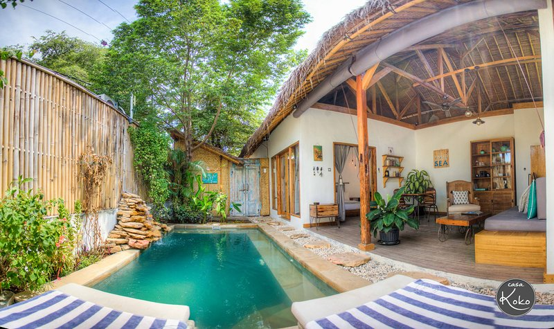 CASA KOKO - 1BR villa with private swimming pool in the heart of Gili Air, holiday rental in Lombok