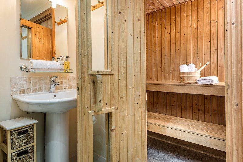 Relaxing sauna Barn
