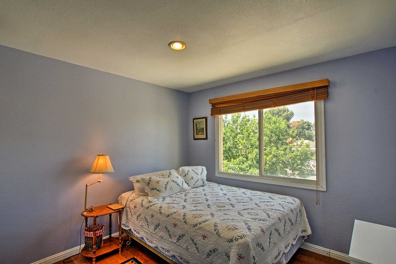 Sleep will come easy in this second bedroom.