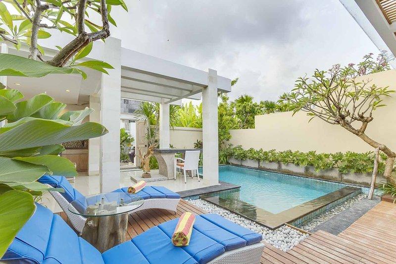 1BR The Tukad Villa, holiday rental in Pemecutan Klod