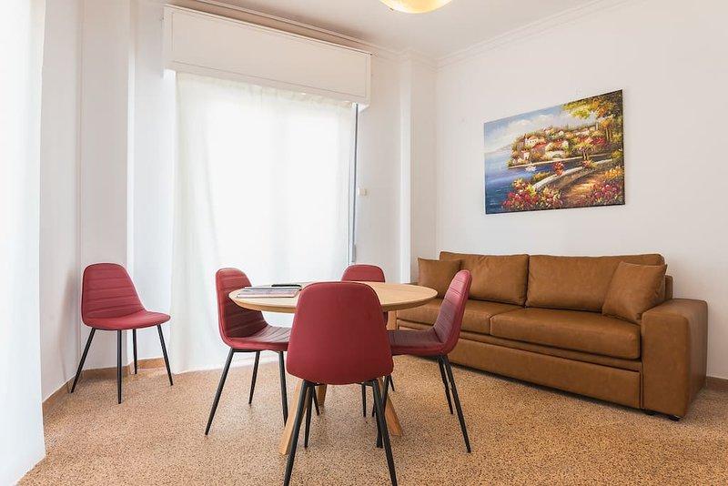 Super Paradise Apartments near metro #1, holiday rental in Agia Varvara