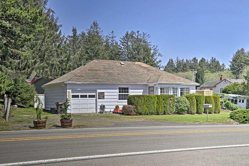 'The Salty Dog Cottage' inclui 2 quartos e 1 casa de banho completa.
