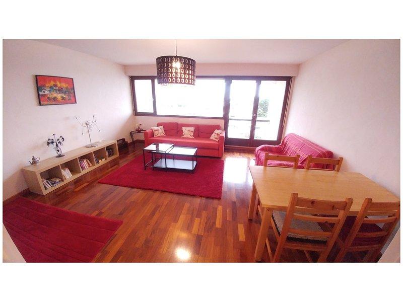 sala y comedor luminoso salón - orientado al sur, con acceso a la terraza