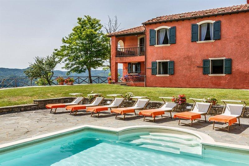 La Collinaccia Villa - Ground Floor, vacation rental in Tredozio
