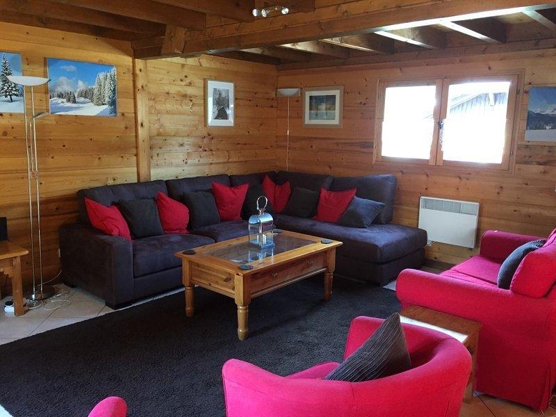 TUDO BEM, holiday rental in La Cote-d'Arbroz