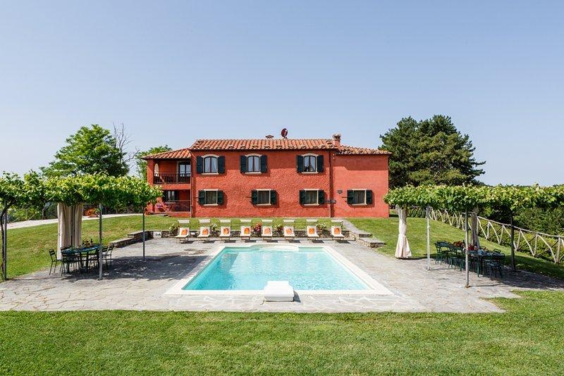 Villa la Collinaccia, alquiler vacacional en Dovadola