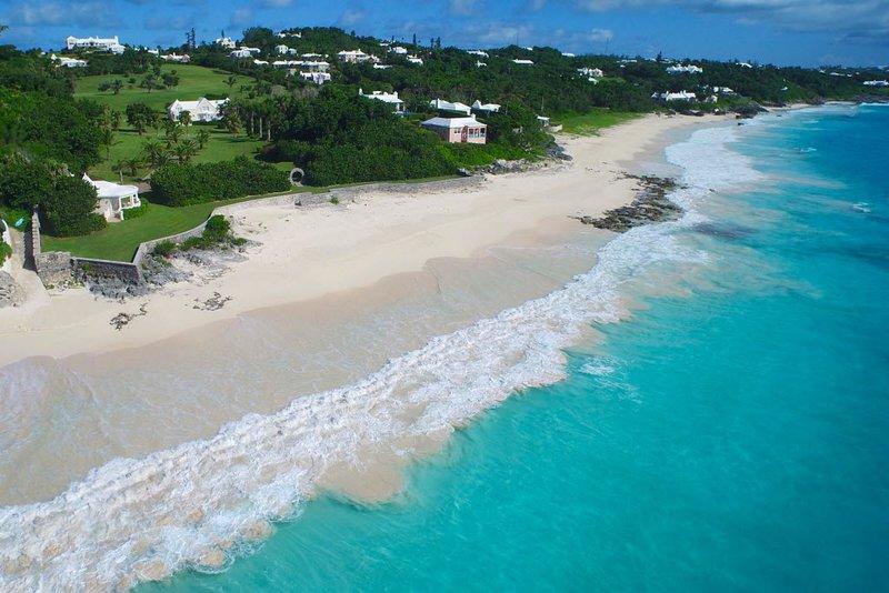 White Sands+Grape Bay Beach just down the road (7 min walk)