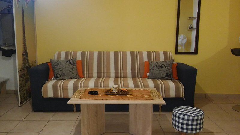 Comfortable apartment near the sea, holiday rental in Skafidaras