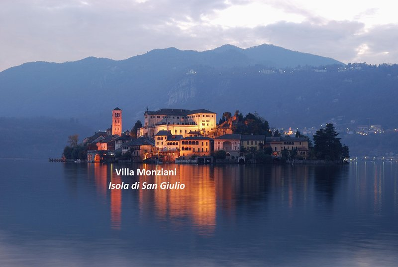 Welcome to Villa Monziani, built in 1637 on Island of San Giulio, Lake Orta, 400m from mainland