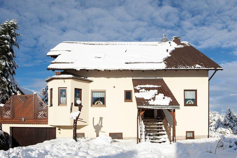 Ferienwohnung Hetzdorf - Winter