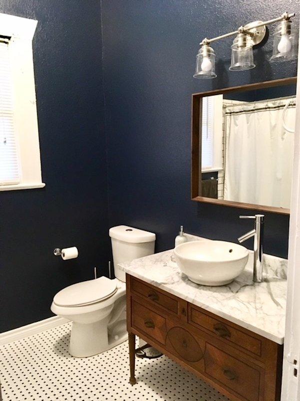 salle de bain hall