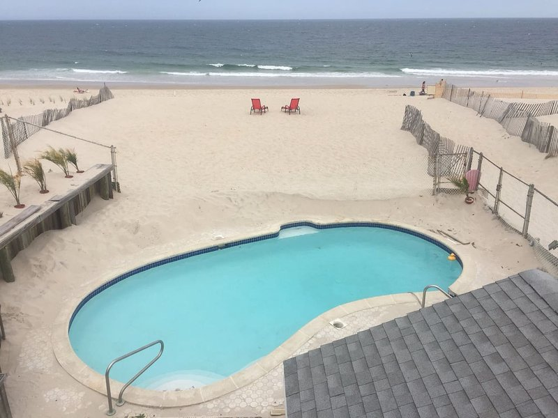 EXCLUSIVE, RARE Private Oceanfront Pool overlooking the ocean and Private Beach to ONE HOME ALONE!!!