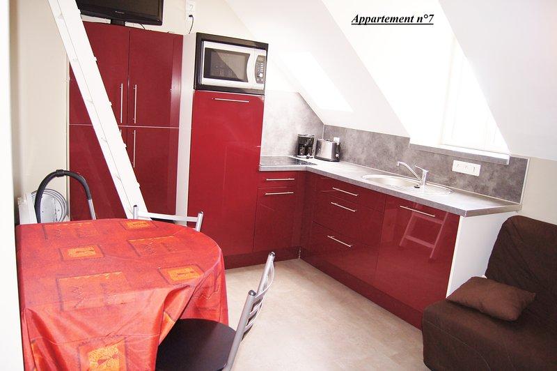 Appartement n°7, casa vacanza a Rang-du-Fliers