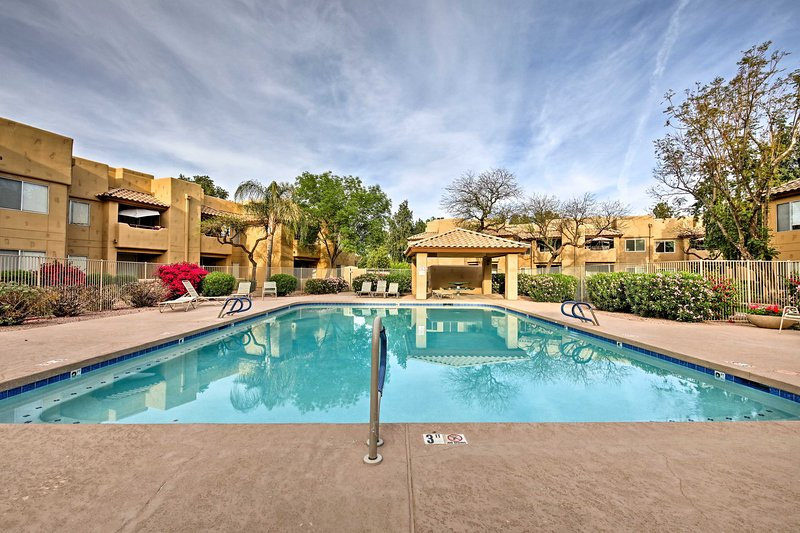Follow your wanderlust to this 1-bedroom, 1-bathroom vacation rental.