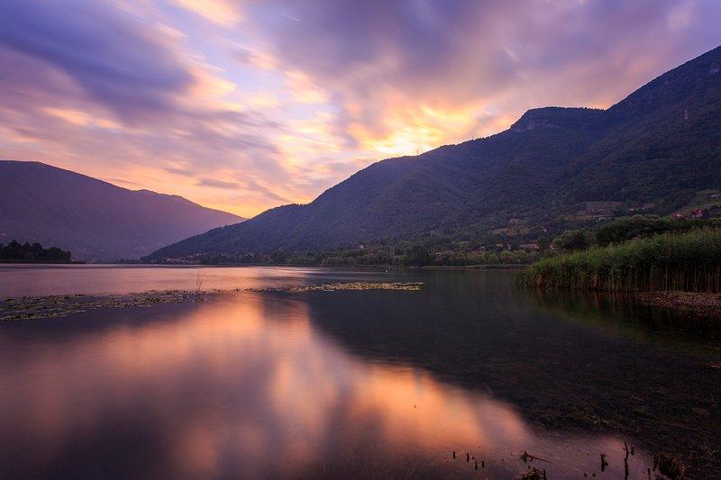 Sunrise at Lake Endine