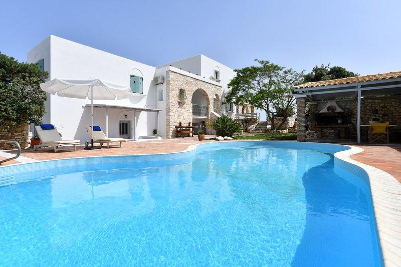 Apartment Anemolia 3 with common pool, holiday rental in Parasporos