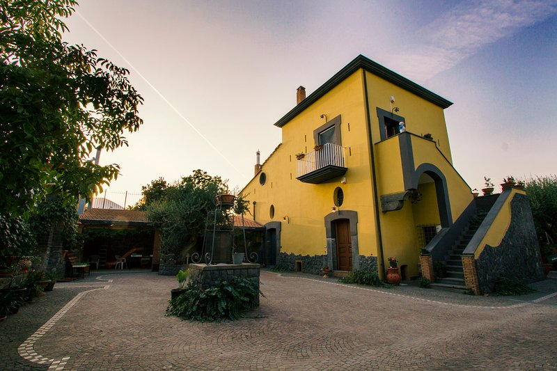 Villa Rosa al Vesuvio, alquiler vacacional en Lauro
