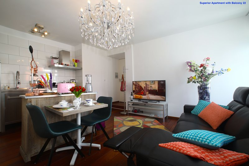Luxury Apartments Delft Superior Apartments with Balcony, vacation rental in Zoetermeer