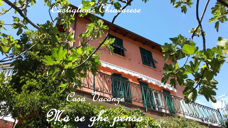 Holiday House 'Ma se ghe penso', Sestri Levante, 5 Terre. 7 km dal mare, vacation rental in Carro