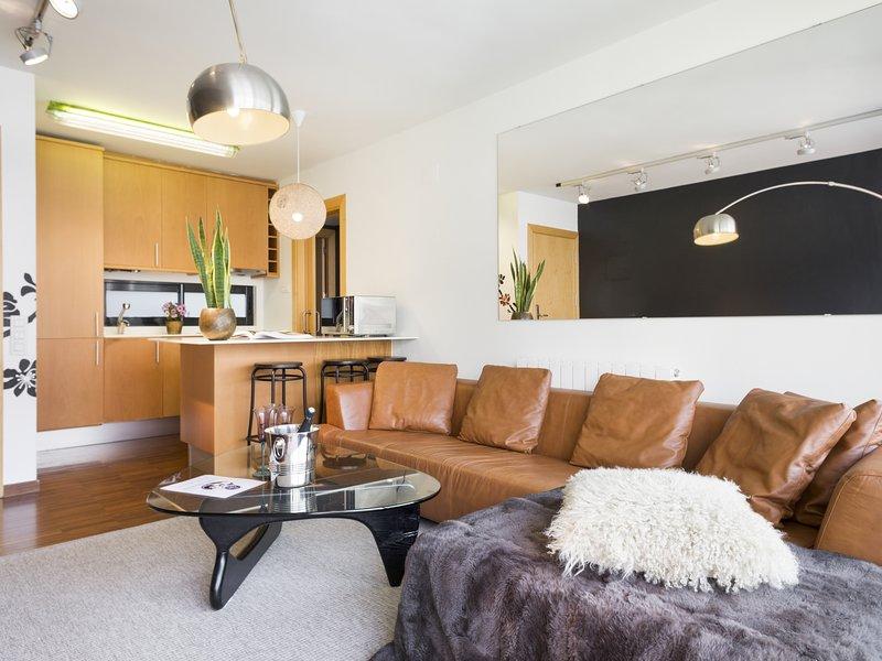 Apartment near the Sagrada Familia Clinic, vacation rental in Vallmanya