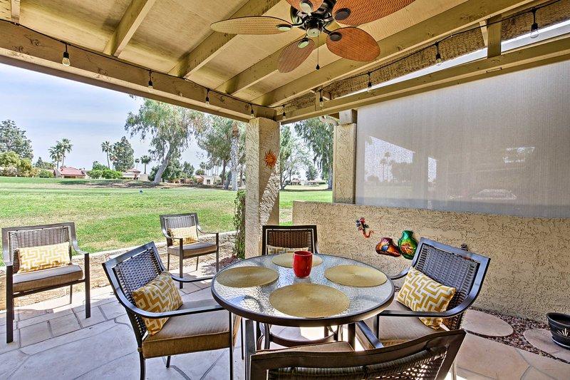 Unwind in this 2-bedroom, 2-bathroom vacation rental condo in Mesa.