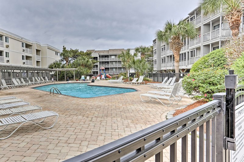 The best of Myrtle Beach awaits at this vacation rental condo.