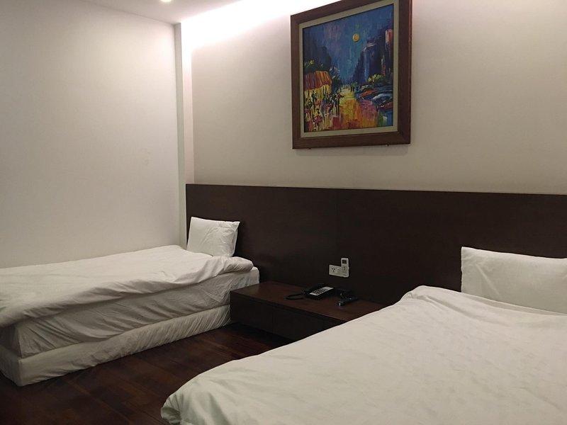 camas individuais limpo e confortável