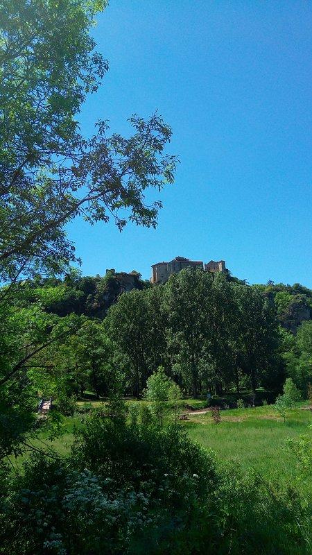 Castle bruniquel
