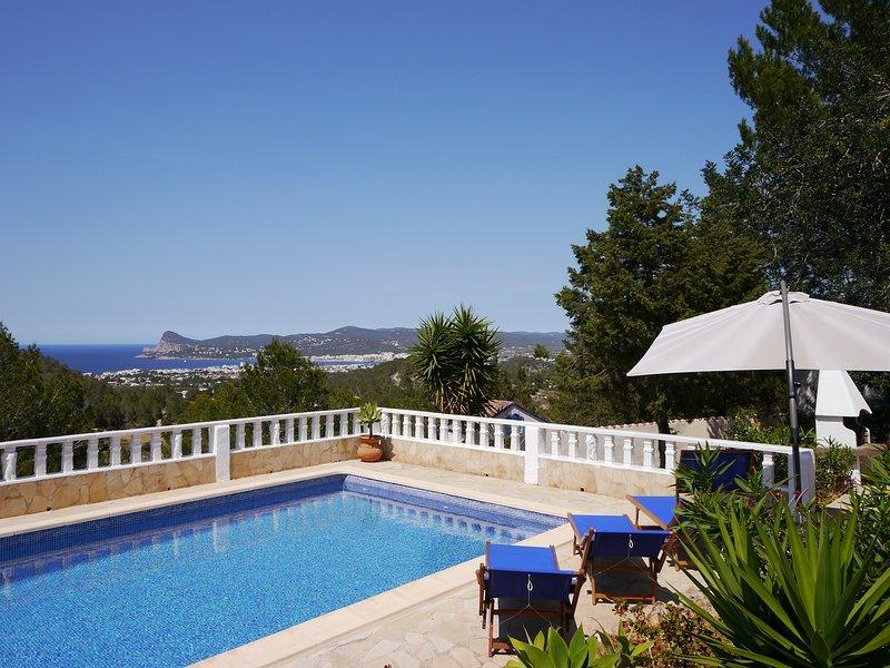 Gemütliches Haus mit Meerblick und Pool, casa vacanza a Port d'Es Torrent