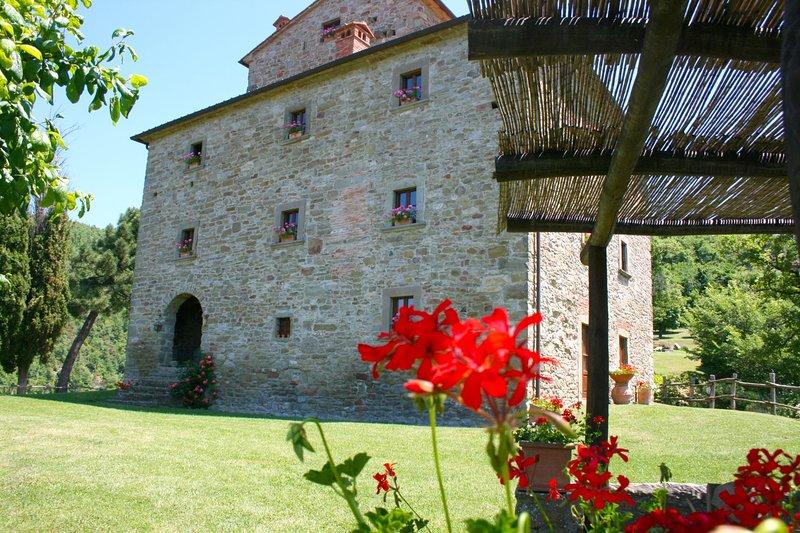 Porcile Villa Sleeps 16 with Pool - 5490462, holiday rental in Palazzo del Pero