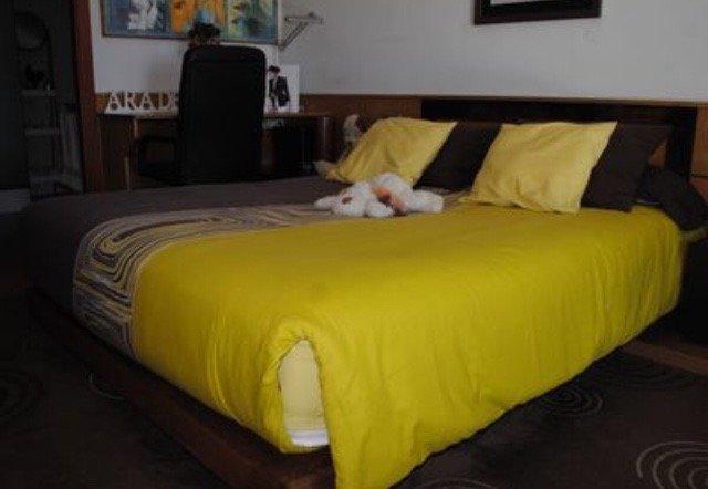 Tercer dormitorio con colchón de primera calidad (magnum de Relax)