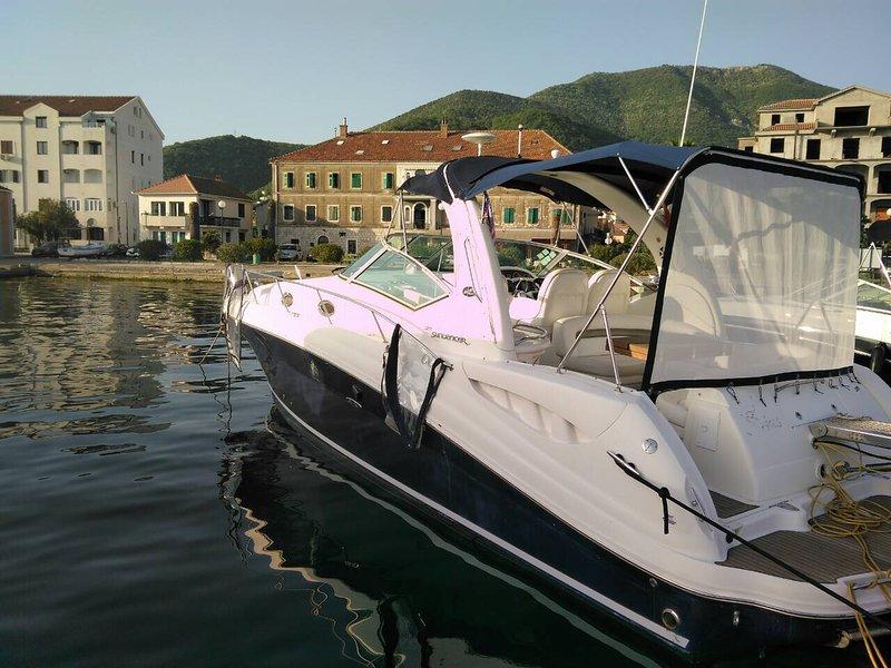 rent motor boat Sea Ray Sundancer 375 – semesterbostad i Tivat