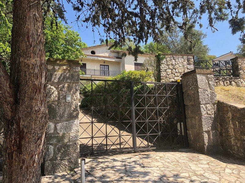 VILLA PALMINA, holiday rental in Castelnuovo Parano
