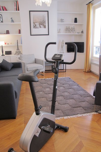 3/15: Exercise bike available