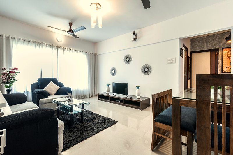 Bollywood Style - 3 BHK Suite, holiday rental in Mumbai