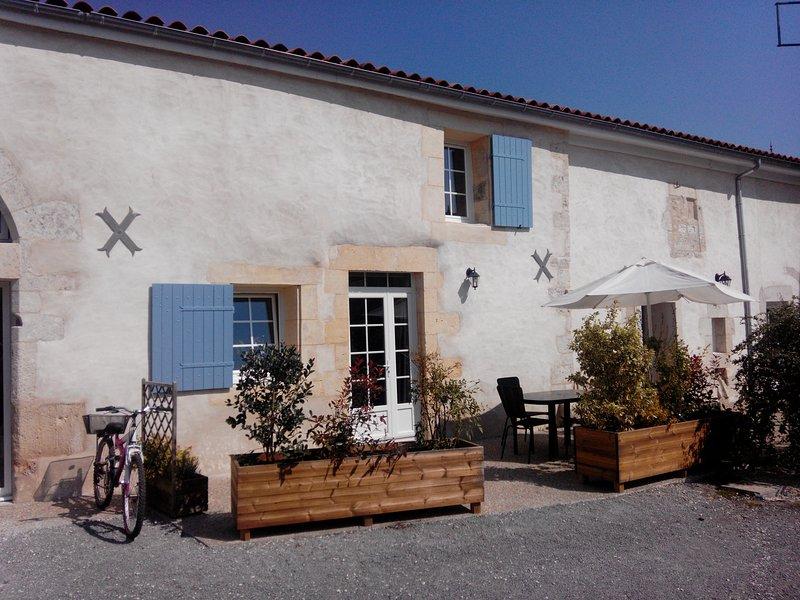 LES KIWIS ***, holiday rental in Montpellier de Medillan