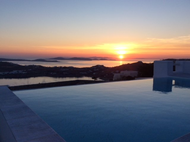 Amazing villa with perfect views, holiday rental in Psarou