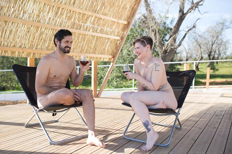 Vacation naked Nudist Family
