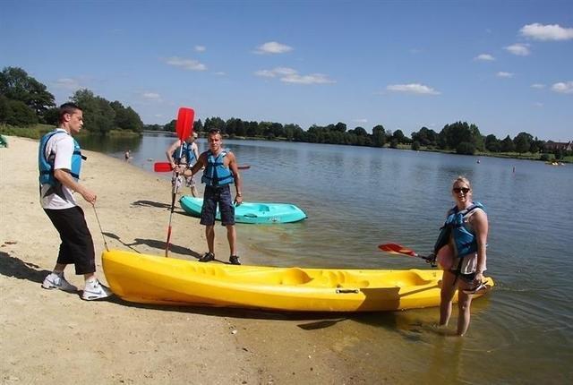 Water sports at Lake Dathee