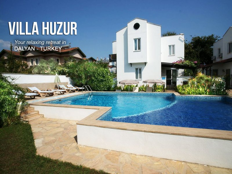 Welcome to our beautiful home - Villa Huzur (translates to 'peace' in Turkish.