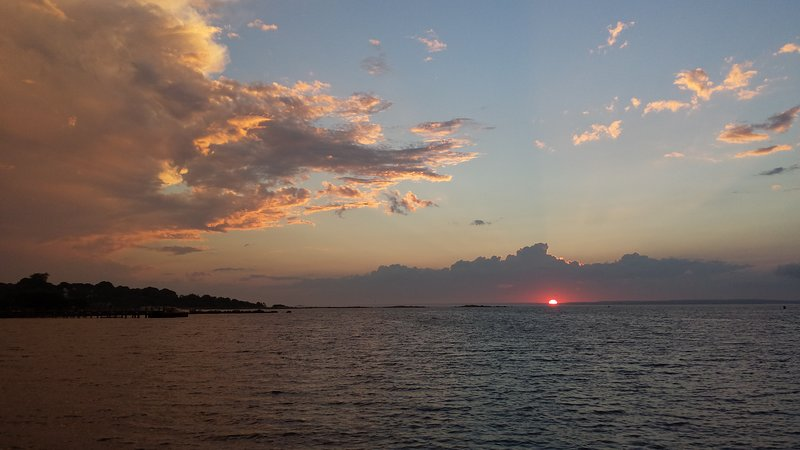 Fisher's Island Sound Sunset
