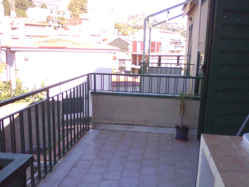 second internal terrace view of the mountains