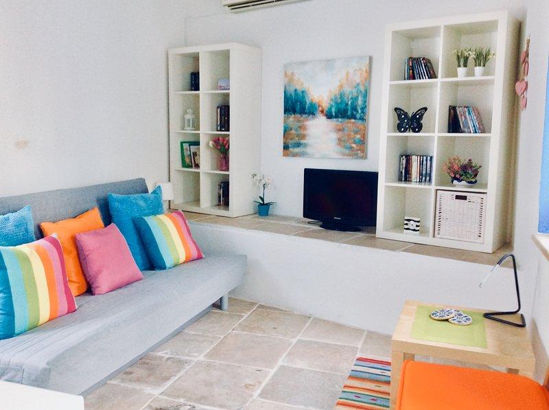 Tradicional fusionada con la contemporánea. Retiro de Chipre Phoenix Suite de Dalla, Maroni Village Larnaca Cy