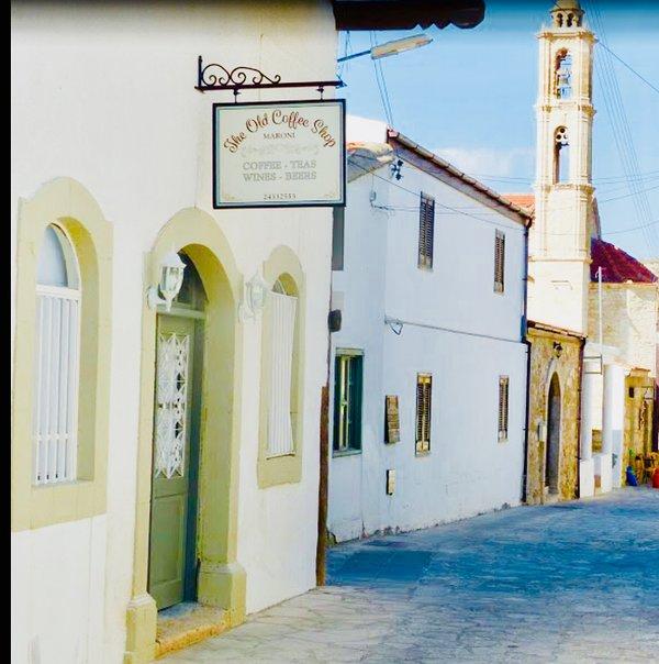 The old coffee shop, Maroni. Dalla's Cyprus Retreat, Maroni village, Larnaca district, Cyprus.