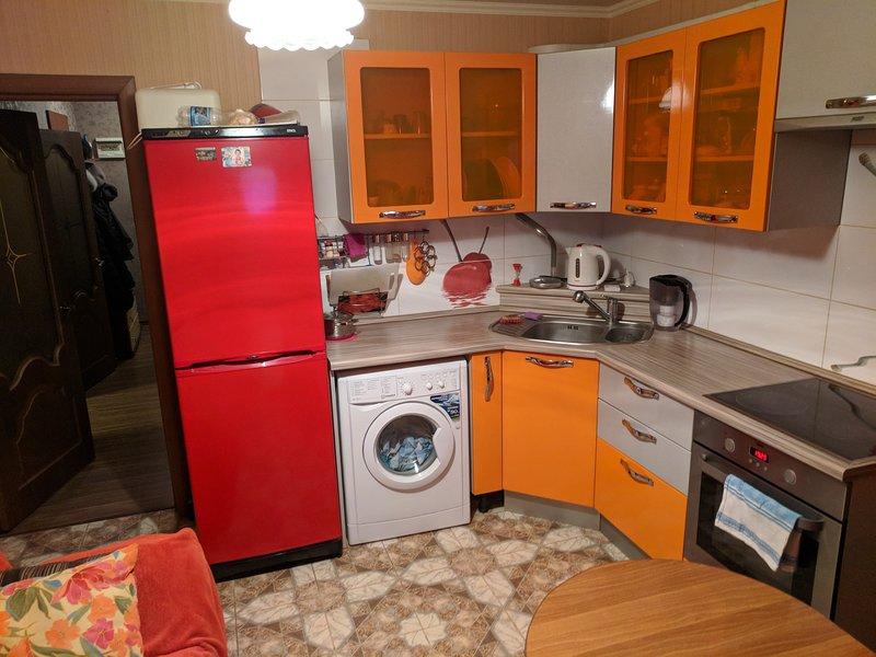Apartament near Samara Arena, vacation rental in Novokuybyshevsk