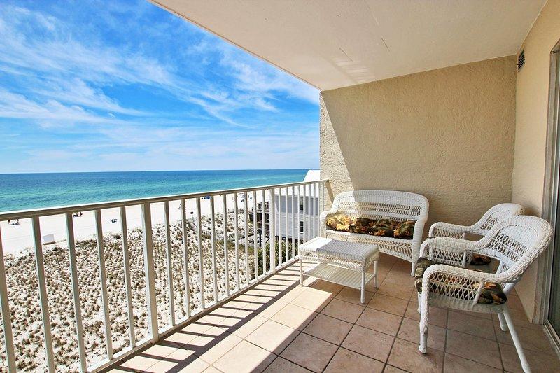 Gulf Front Balcony