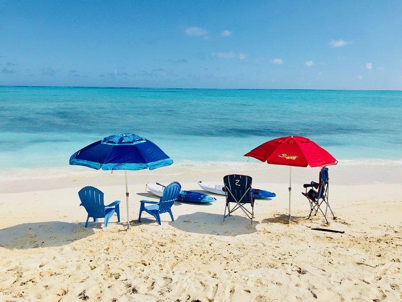 The Royal Hideaway, Bambarra Beach, Middle Caicos, holiday rental in Bambarra