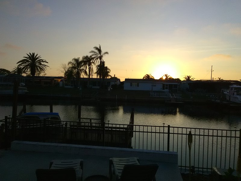 Enjoy your daily sunset...stunning!